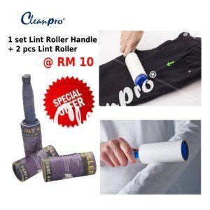 set lint roller with handel