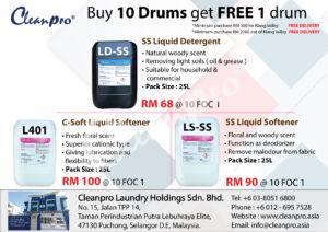 Buy 10 Free 1 drum
